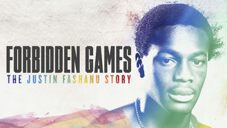 Netflix box art for Forbidden Games: The Justin Fashanu Story